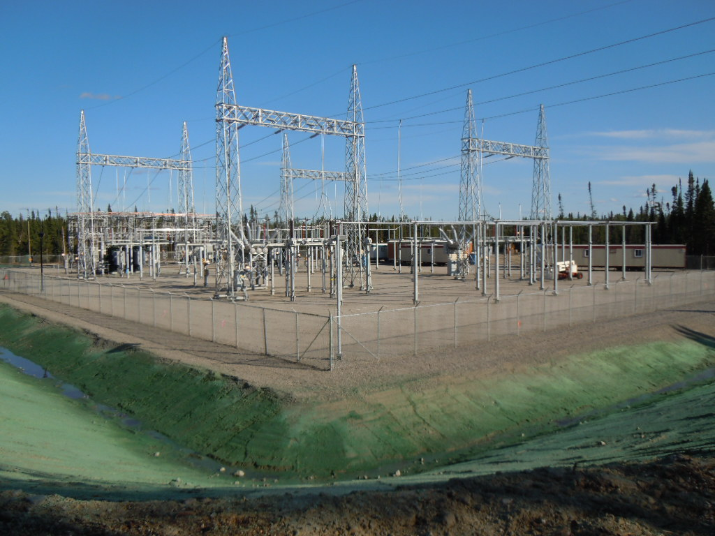 Waconichi steel structure - electric station